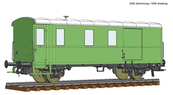 Roco 74220 - Goods train bagagge wagon