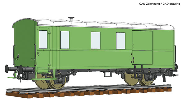Roco 74220 - Goods train bagagge wagon