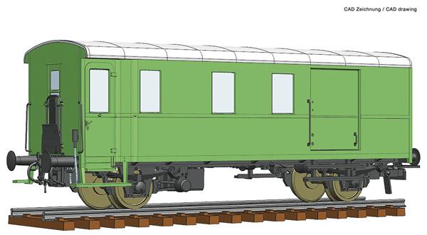 Roco 74229 - Goods train bagagge wagon