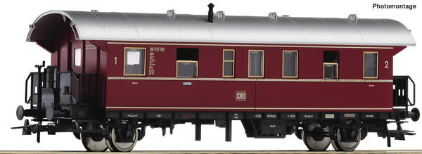 "Roco 74260 - German 2nd class passenger car ""Donnerbüchse"" of the DB"
