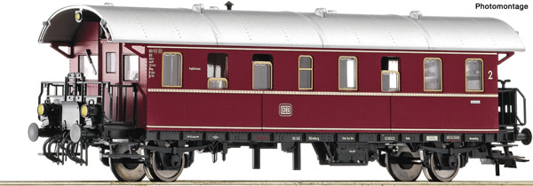 Roco 74263 - German 2nd class cab car Donnerbüchse of the DB