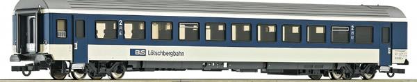 Roco 74392 - 2nd class passenger coach EW IV, BLS