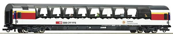 "Roco 74400 - Panorama coach ""Gotthard"", SBB"