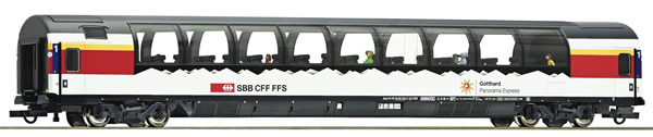 "Roco 74402 - Panorama coach ""Gotthard"", SBB"