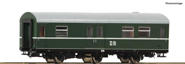 """Roco 74462 - German Baggage car """"Rekowagen"""" of the DR"""
