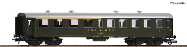Roco 74527 - Swiss 2nd/3rd class Passenger Car of the SBB