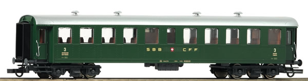 Roco 74529 - Swiss 3rd class Passenger Car of the SBB