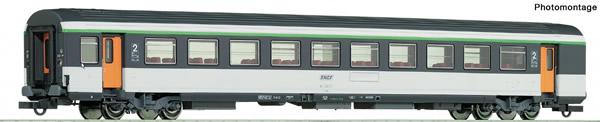 Roco 74532 - 2nd class corail open-plan coach, SNCF