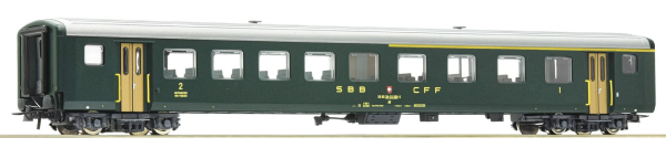 Roco 74561 - 1st/2nd class fast train coach EW II, SBB
