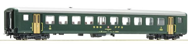 Roco 74563 - 2nd class fast train coach EW II, SBB