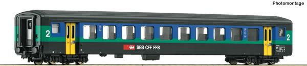 Roco 74566 - 2nd class passenger coach