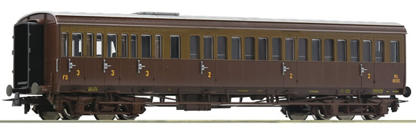 Roco 74685 - Italian 2nd/3rd class passenger car of the FS