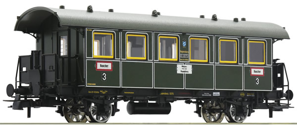 Roco 74901 - German Baggage Car of the K.Bay.Sts.B.