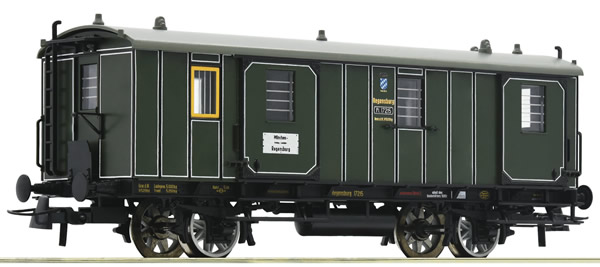 Roco 74902 - German Passenger Car 3rd class of the K.Bay.Sts.B.