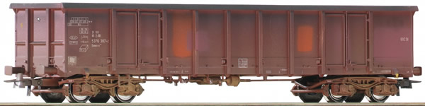 Roco 75996 - Weathered Open Goods Wagon