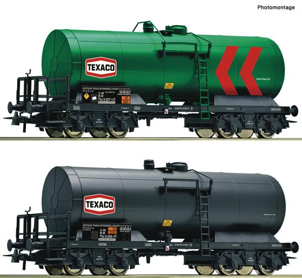 Roco 76013 - 2 piece set: Tank wagons