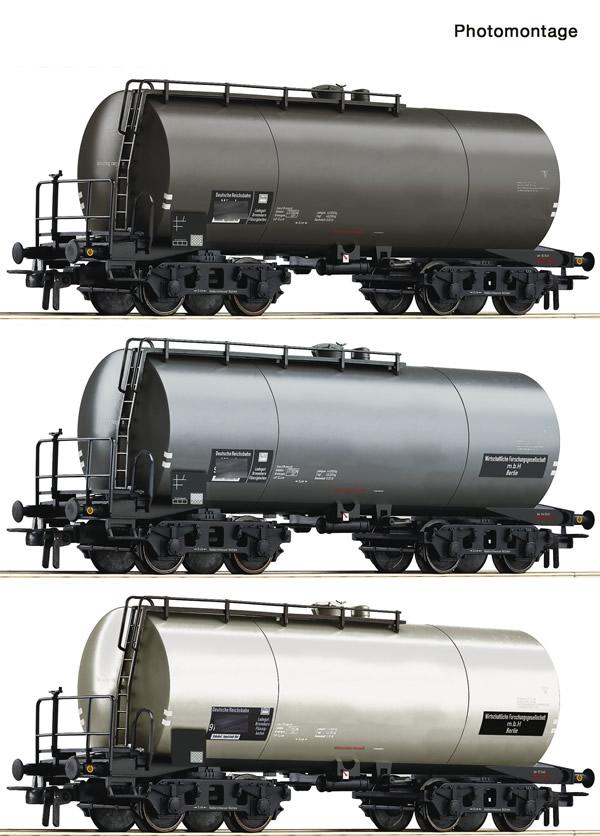 Roco 76015 - 3-piece set: Tank wagons