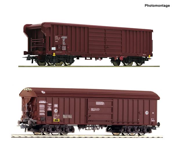 Roco 76020 - 2 piece set: Goods wagons