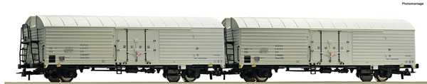 Roco 76035 - 2 piece set: Refrigerator wagons