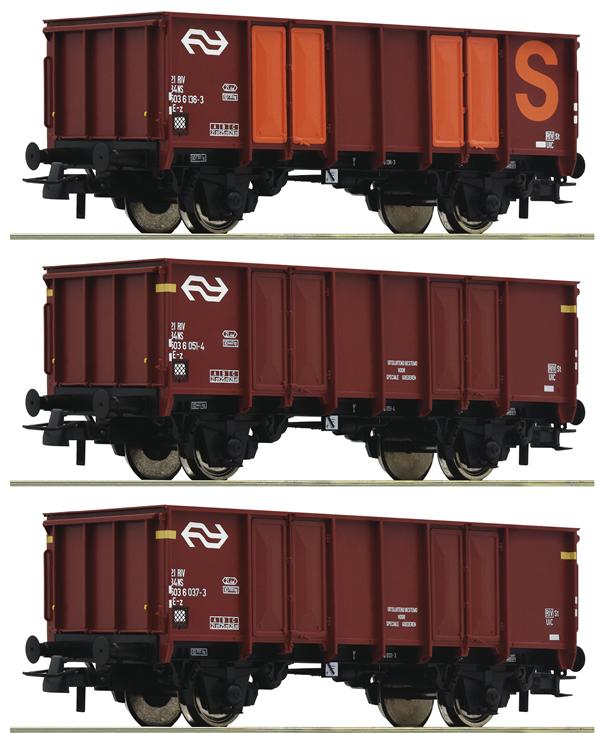 Roco 76062 - 3 piece set: Gondolas