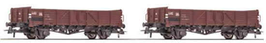Roco 76112 - 2pc Gondola Set, ÖBB
