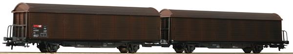 Roco 76152 - Double Sliding Wall Wagon Unit