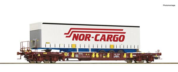 Roco 76222 - Pocket wagon T3 + Nor Cargo
