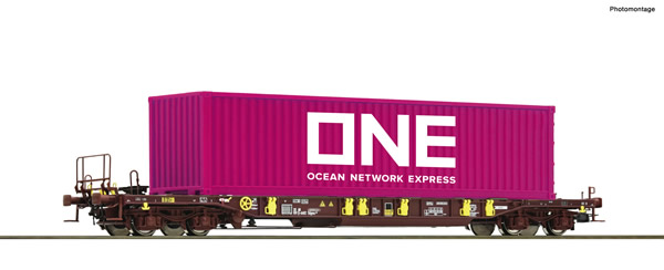 Roco 76234 - Pocket wagon T3 + ONE Container