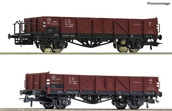 Roco 76281 - Polish Gondola Set of the PKP
