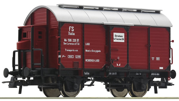Roco 76304 - Italian Wine tank car of the FS