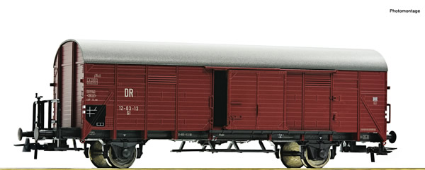 Roco 76308 - Covered goods wagon