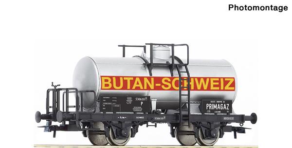 "Roco 76312 - Tank wagon ""Butan-Schweiz"""