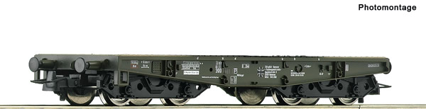 Roco 76391 - German Heavy duty flat wagon Bundeswehr