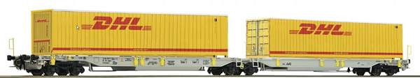Roco 76421 - Articulated pocket wagon, AAE