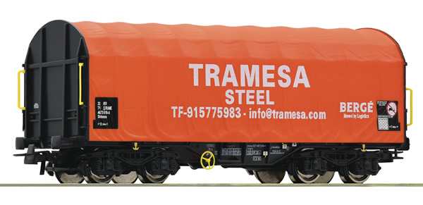 Roco 76439 - Sliding tarpaulin wagon