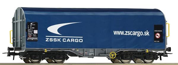 Roco 76441 - Slovakian Slide tarpaulin wagon of the ZSSK