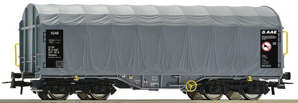 Roco 76442 - Slide Tarpaulin Wagon, AAE