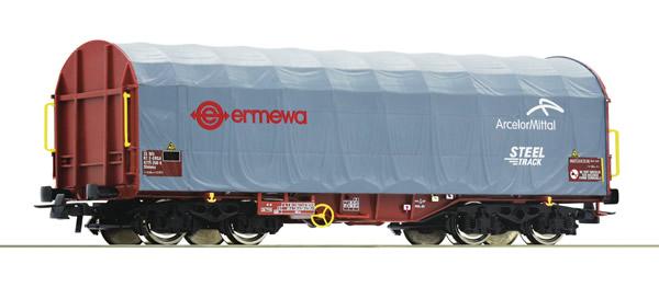 Roco 76447 - French Slide tarpaulin wagon of the Ermewa