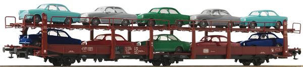 Roco 76458 - German Car transport carriage of the DB