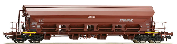 Roco 76523 - German grain hopper car of the DR
