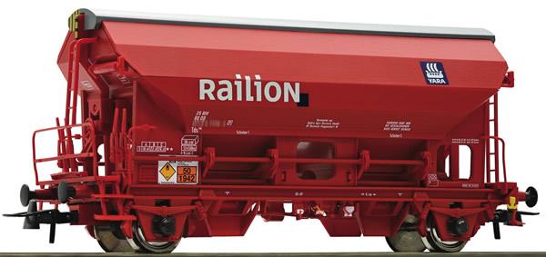 Roco 76579 - German Swing roof wagon of the DB-AG