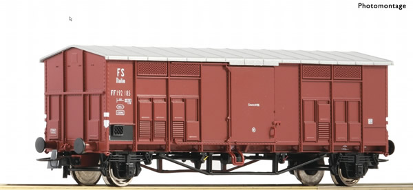 Roco 76595 - Pitched roof wagon, FS
