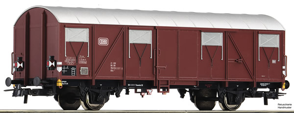 Roco 76616 - Covered goods wagon
