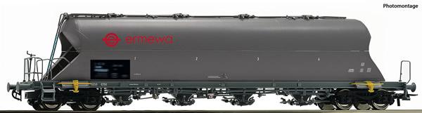 Roco 76707 - German Dust silo wagon of the RSB