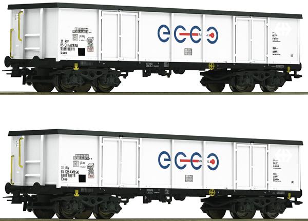 Roco 76731 - 2 piece set: Gondolas