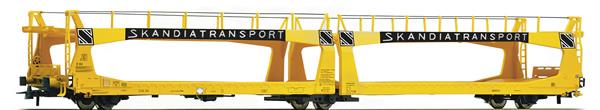Roco 76839 - Swedish Auto Transport Wagon Skandiatrasport of the SJ