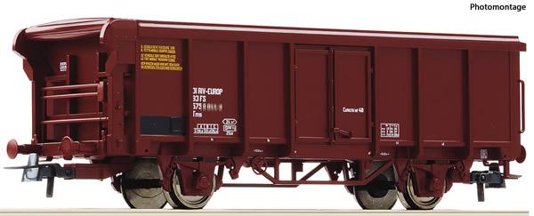 Roco 76883 - Italian Rolling roof wagon of the FS