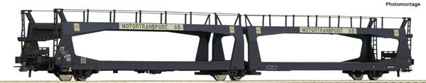 Roco 76892 - Swedish Car carrier wagon of the SJ