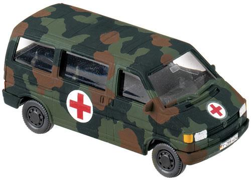 Roco 774 - VW T4 Bus Ambulance camoDISCONTINUED
