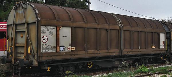 Roco 77485 - Sliding Wall Wagon